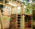 Klettergerüst Garten Holz Luxus Coole Gartengestaltung Mit Einem Spielhaus Aus Holz Mit