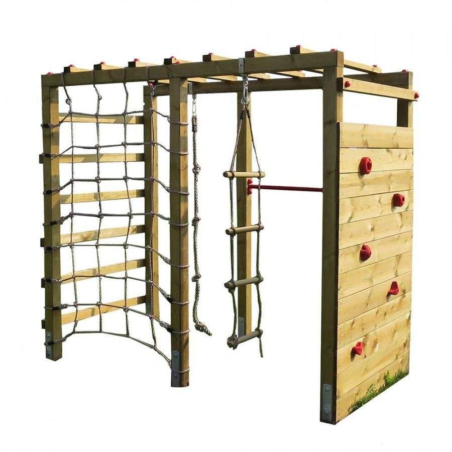 Klettergerüst Garten Holz Neu Kinder Klettergerüst Premium Aus Holz Für Kinder Im
