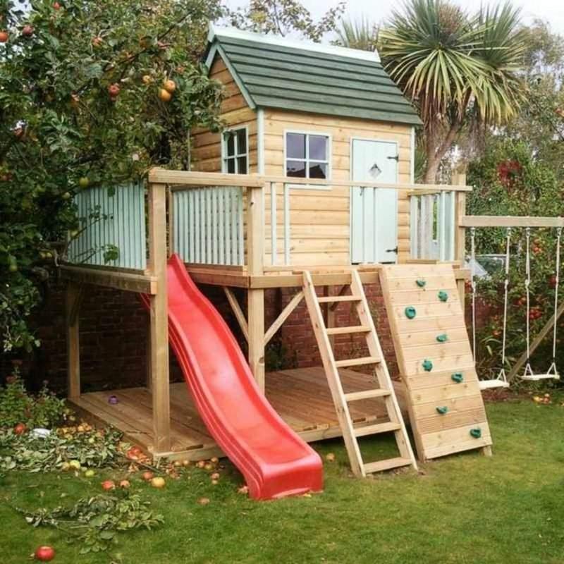 Klettergerüst Garten Kinder Das Beste Von Klettergerüst Im Garten Eine Fantastische Spielecke Für