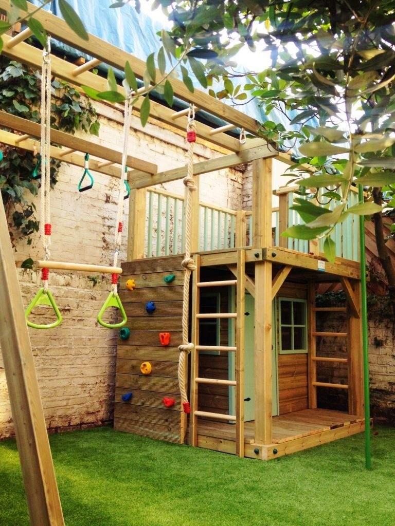 Klettergerüst Garten Kinder Das Beste Von Spielhaus Für Den Garten Selber Bauen Diy Anleitung