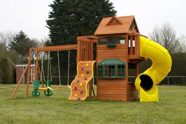 Klettergerüst Garten Kinder Schön Speziell Für Kinder Klettergerüst Im Garten Archzine