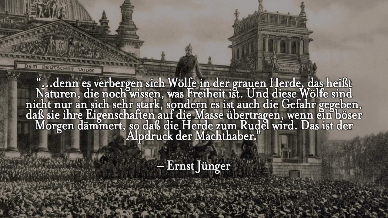 Ernst Juenger Zitat