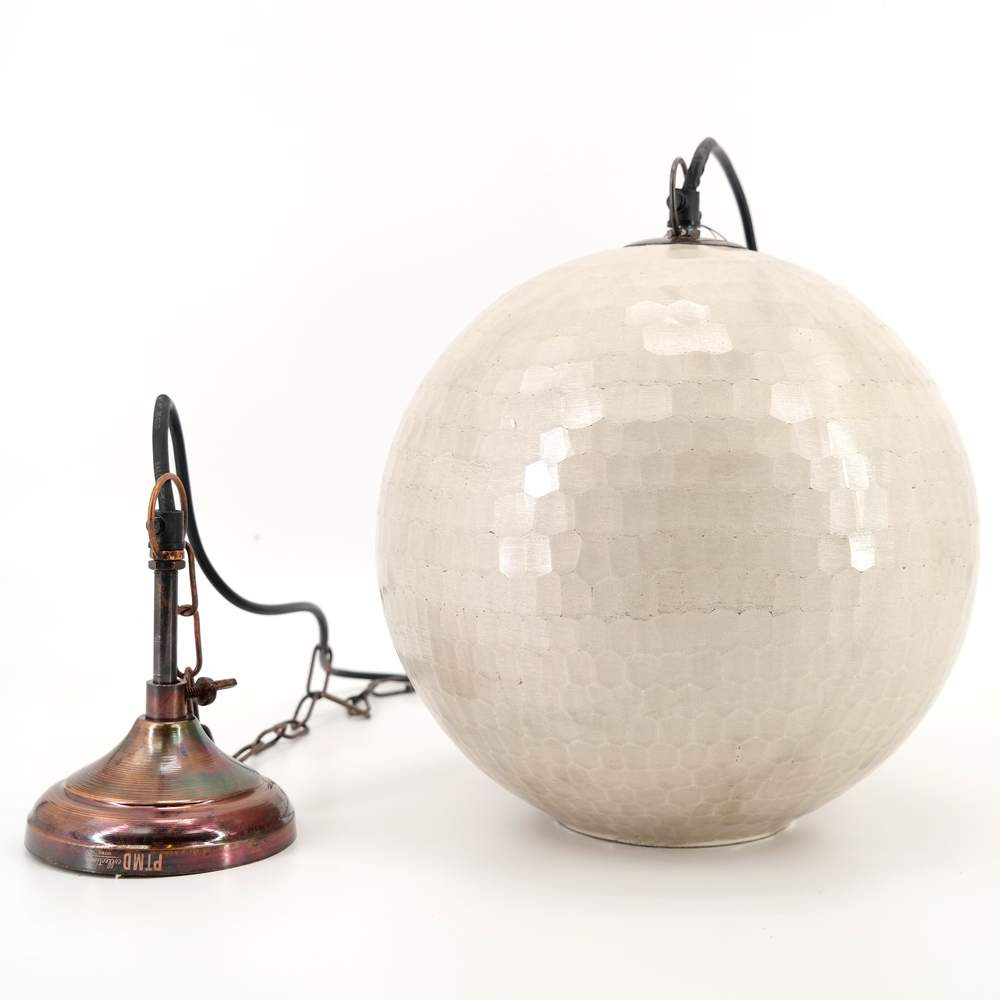 Kugellampe Glas