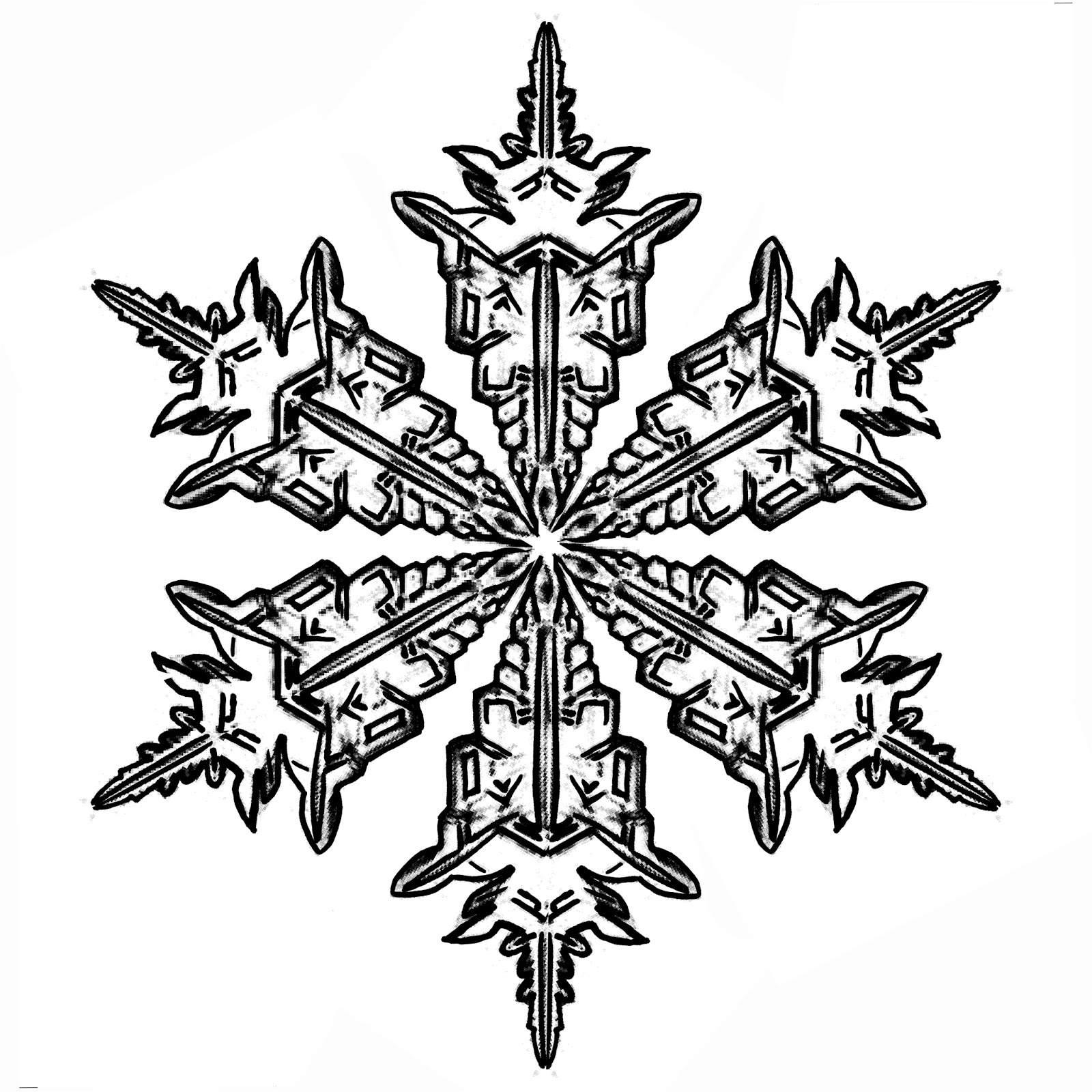 Eiskristalle für Gipsintarsien 1