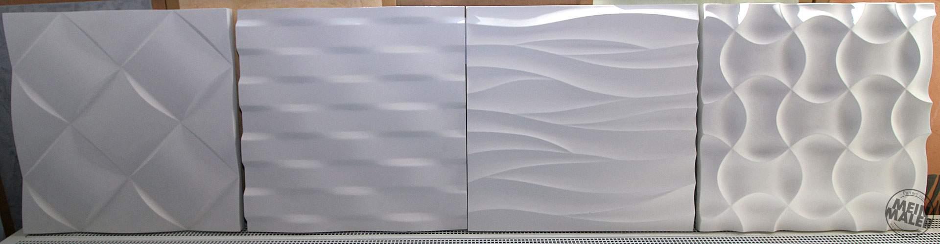 3d wandpaneele gips gipspaneele struktur innenraumgestaltung