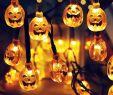 Led Beleuchtung Garten Elegant Großhandel 30 Led sonnenenergie Schnur Lichter Led Fee Licht Für Partei Kürbis Grimasse Halloween Garten Landschaft Außendekoration Von Glistenlight