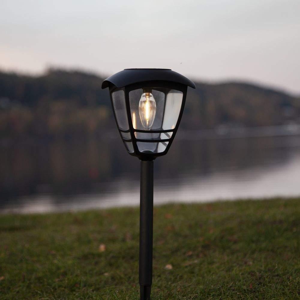 Led solarleuchte Garten Luxus Led solarleuchte Felix In Schwarz 450 Mm In 2019