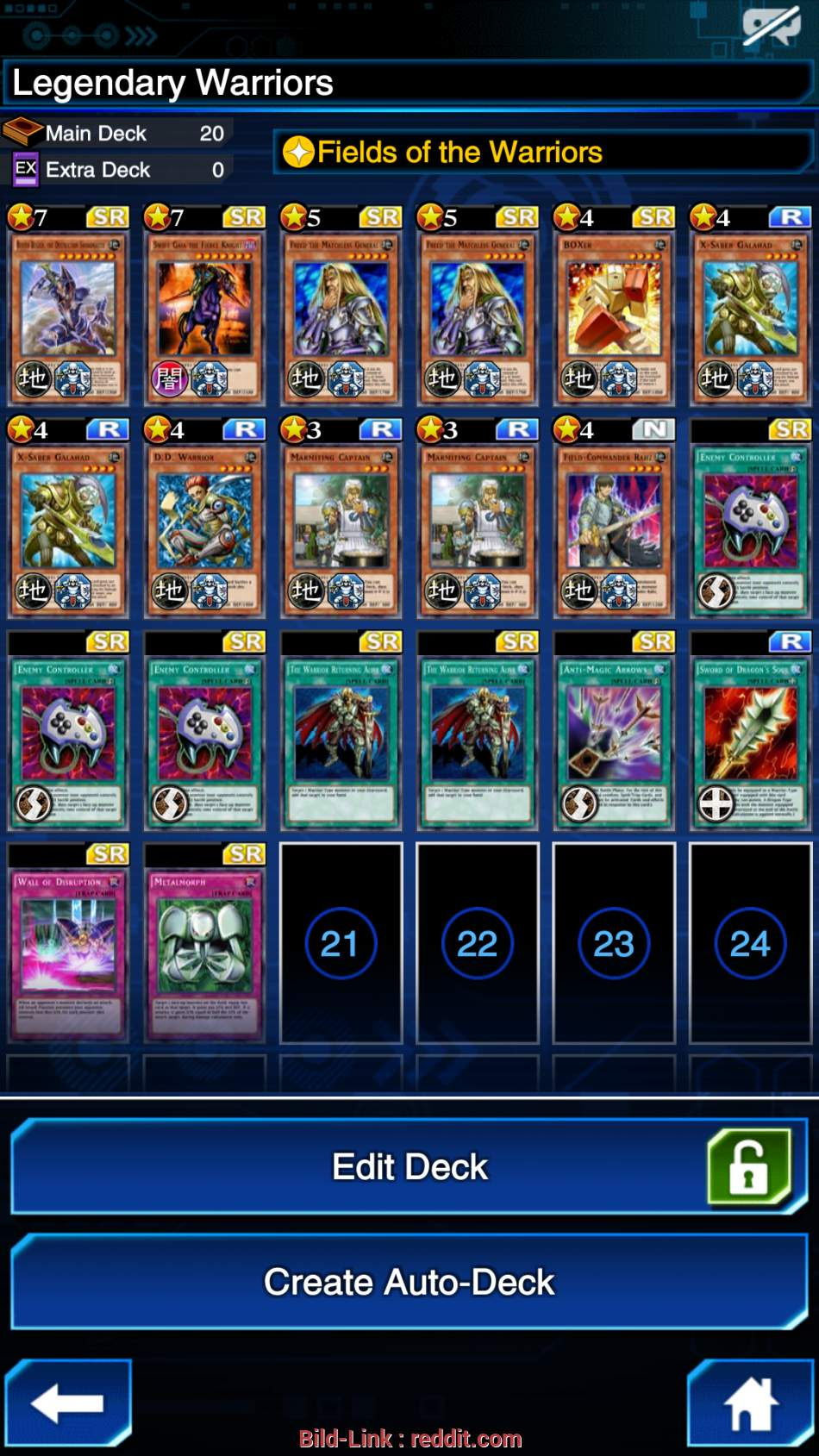warrior deck deckdeck need some pointers my warrior deck after i a wall in plat 68
