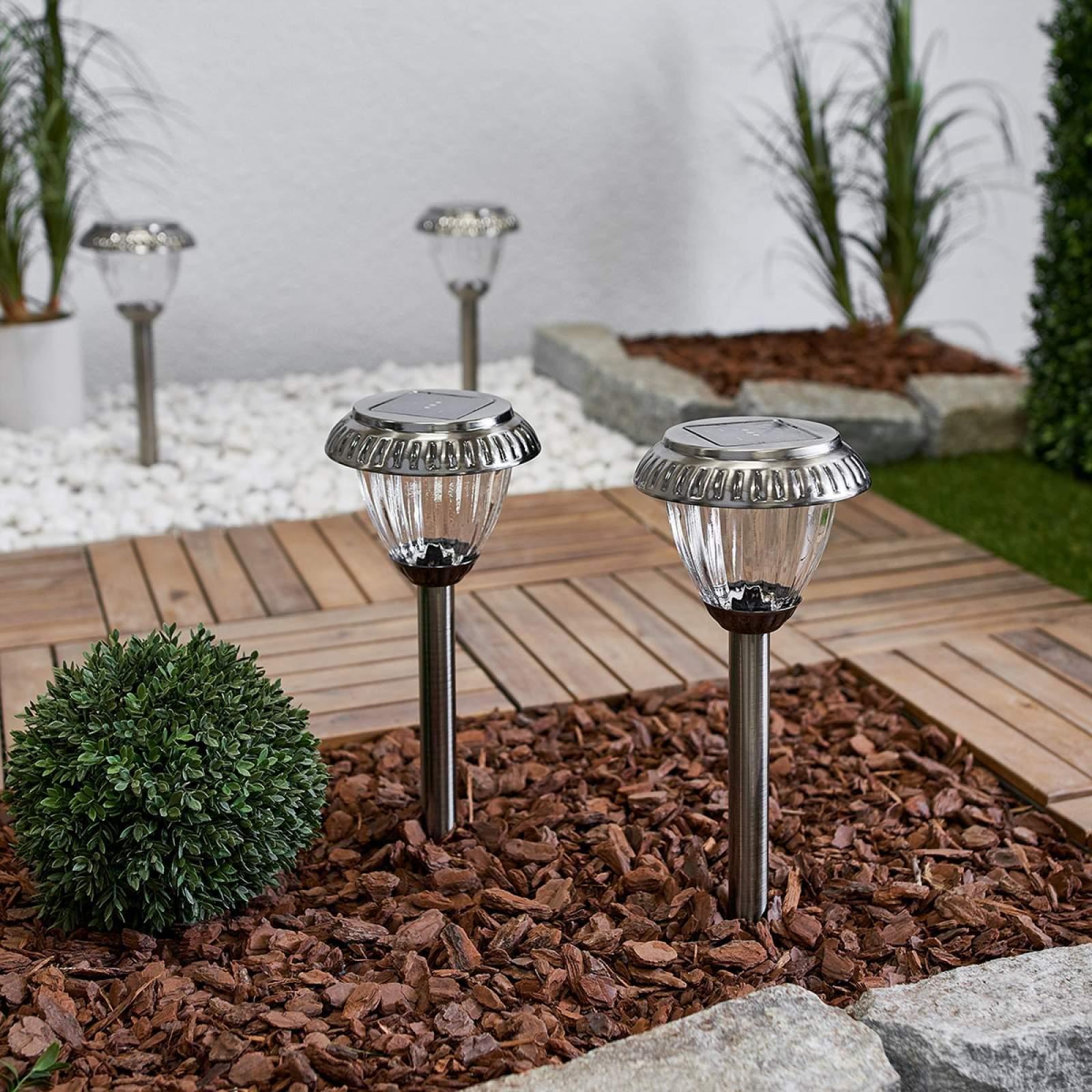 Leuchtkugeln Garten Einzigartig Moderne solarleuchte Marie Von Duracell Grau