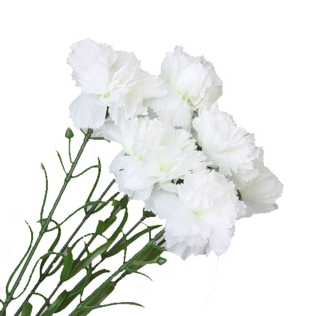 ALIM 6 st cke Simulation Nelken K nstliche Pflanzen Blumen