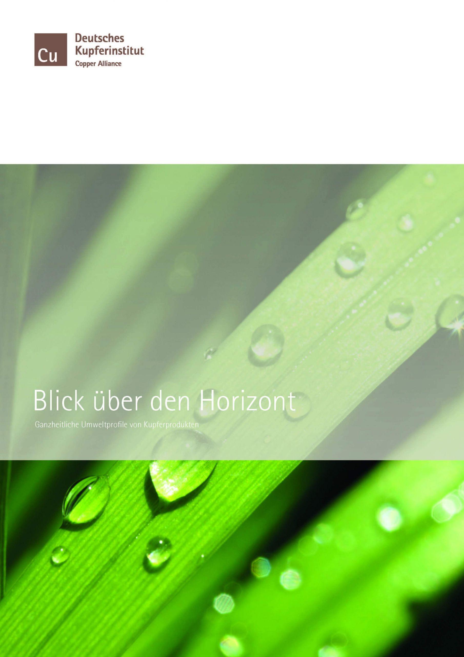 TitelseiteBlicküberdenHorizont