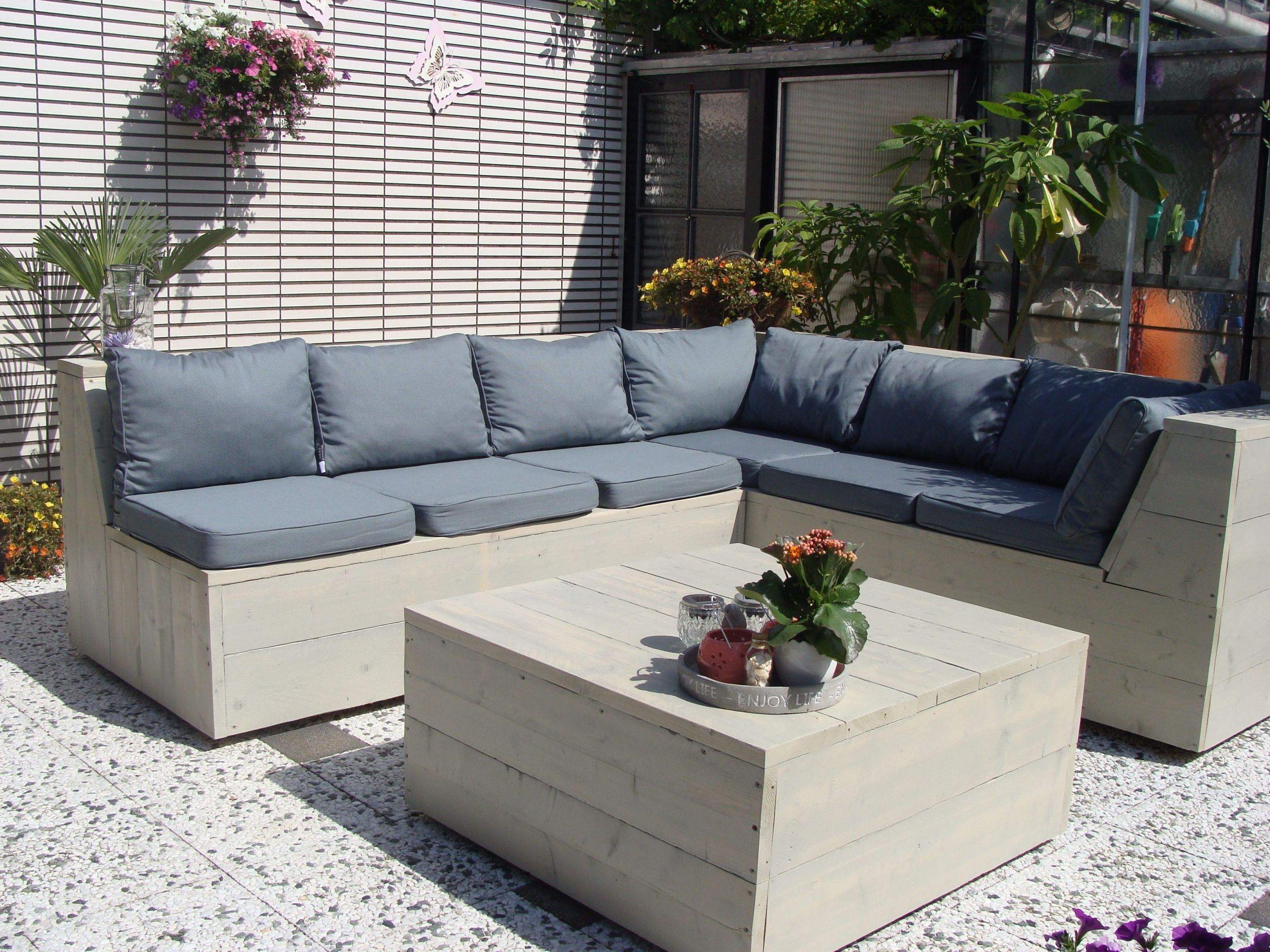 Lounge Ecke Garten Genial Ecklounge Set Aus Holz Mit Loungekissen