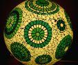 Mosaiktisch Garten Einzigartig Kugellampe Mit Glas Mosaik In Grüntönen