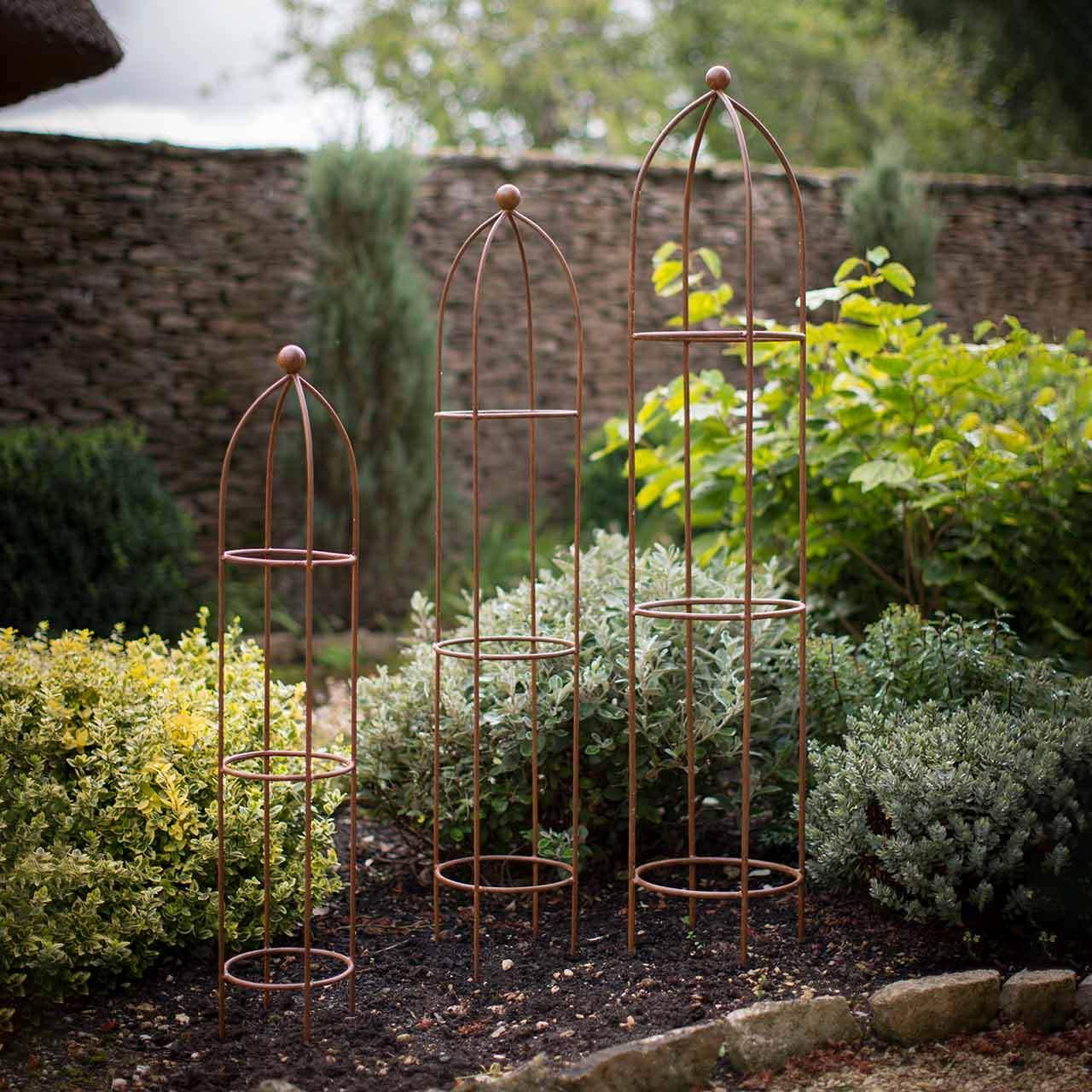 Obelisk Garten Frisch Rankhilfe Barrington Obelisk 3er Set