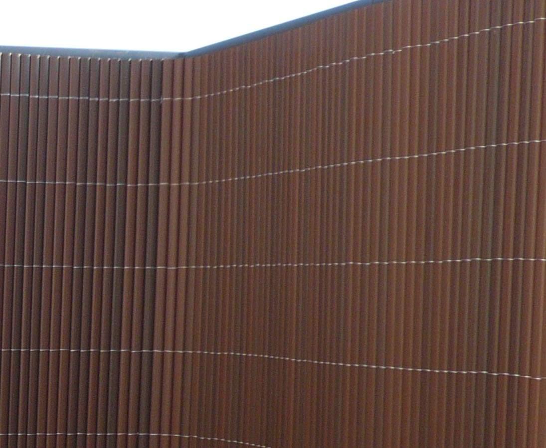 Zaun Sichtschutz Sylt mit 180 300cm nussbaum 1i8uumkG0XNsxm