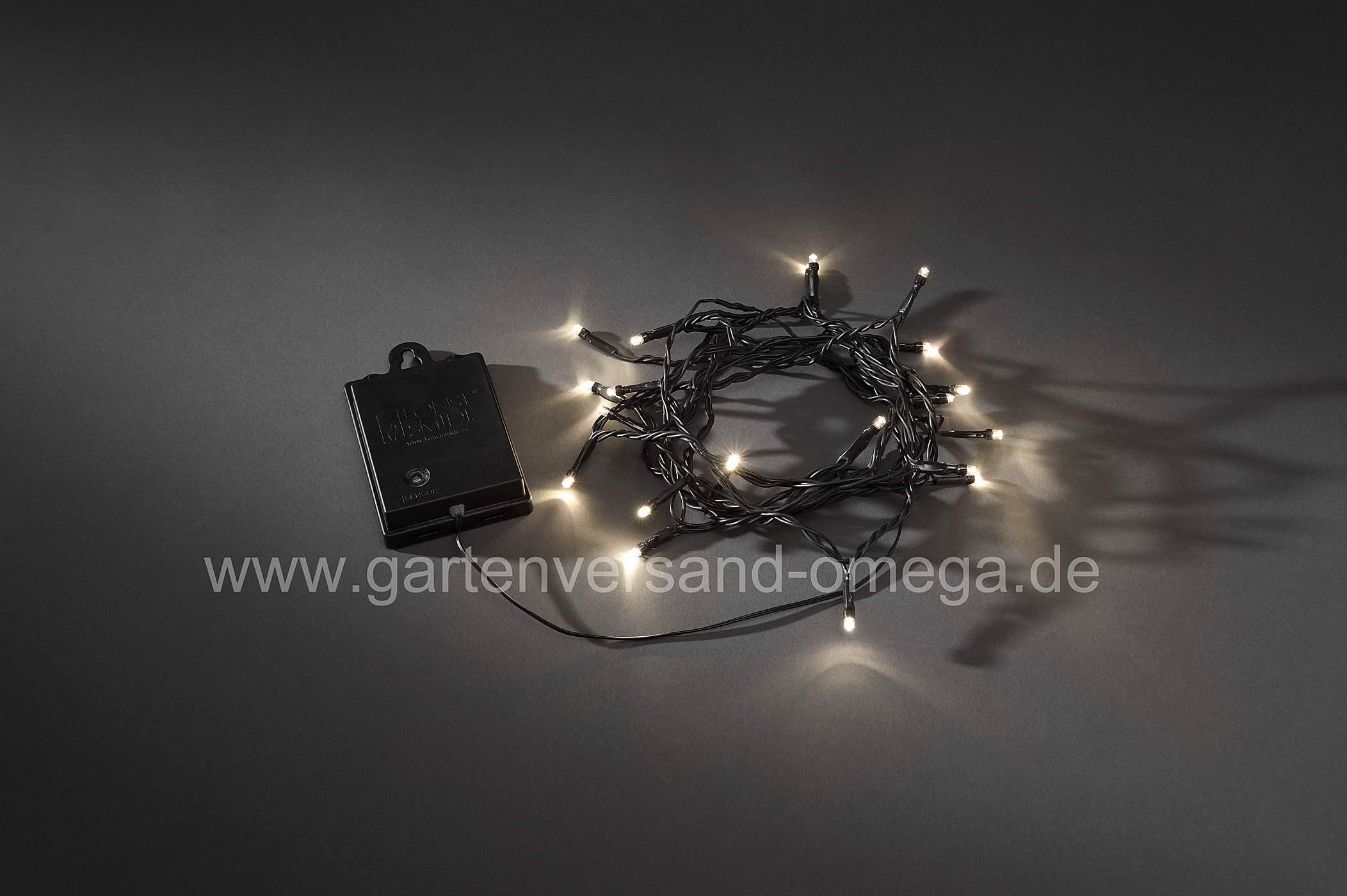 Batteriebetriebene Lichterkette fuer Aussen