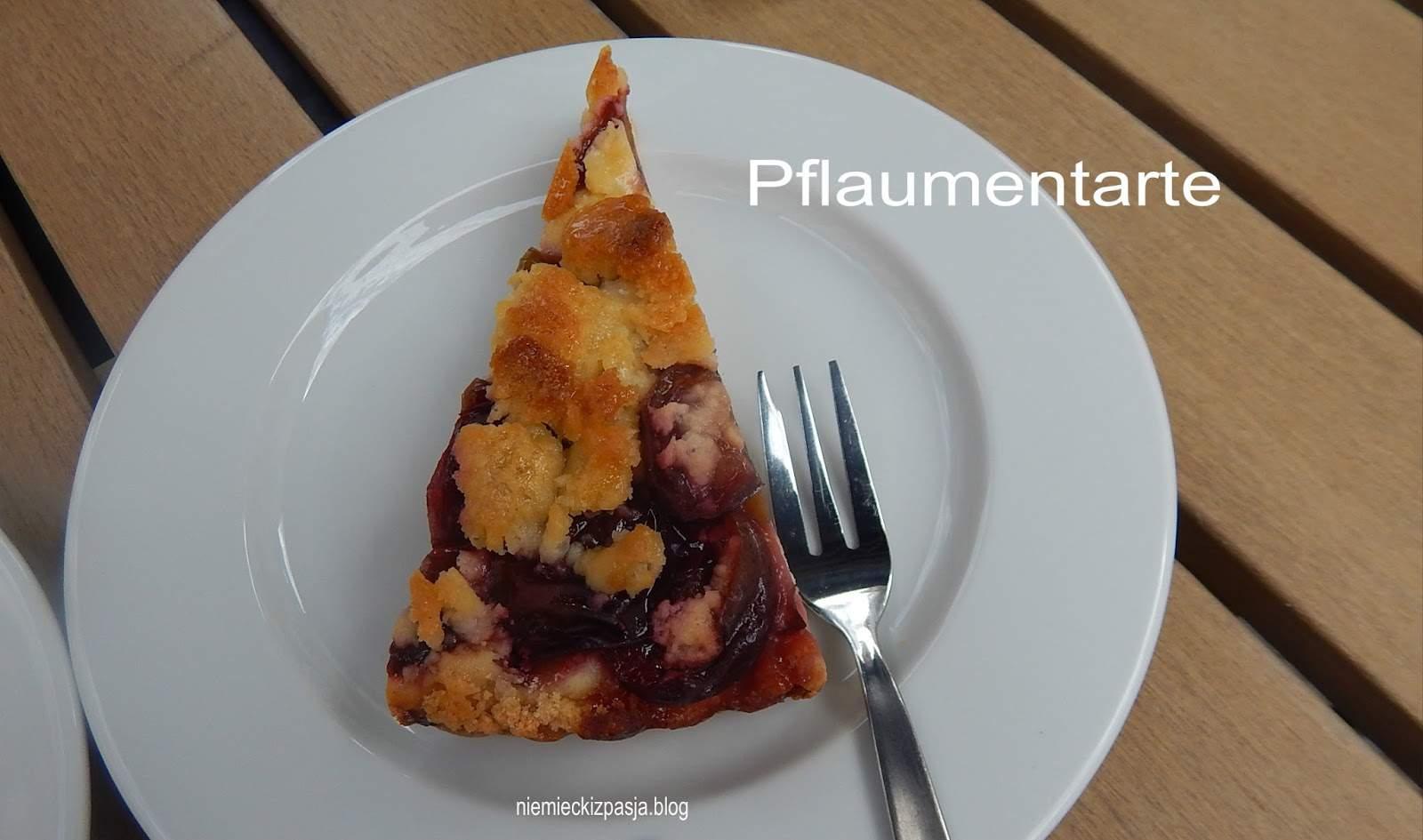 pAP3901 Pflaumentarte tarta śliwkowa drożdzówka