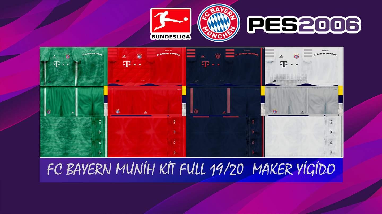 Bayern Kits PES6