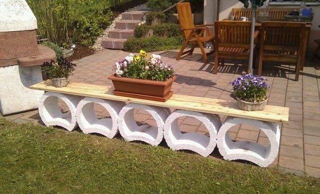 majestic design ideas pflanzringe ideen pflanzsteine als bank garten para s pinterest gardens fur mit