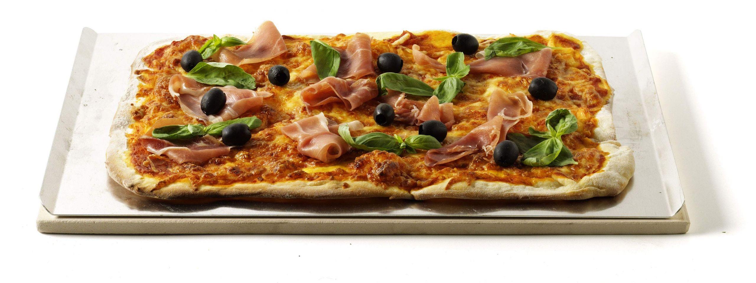 Pizzastein rechteckig