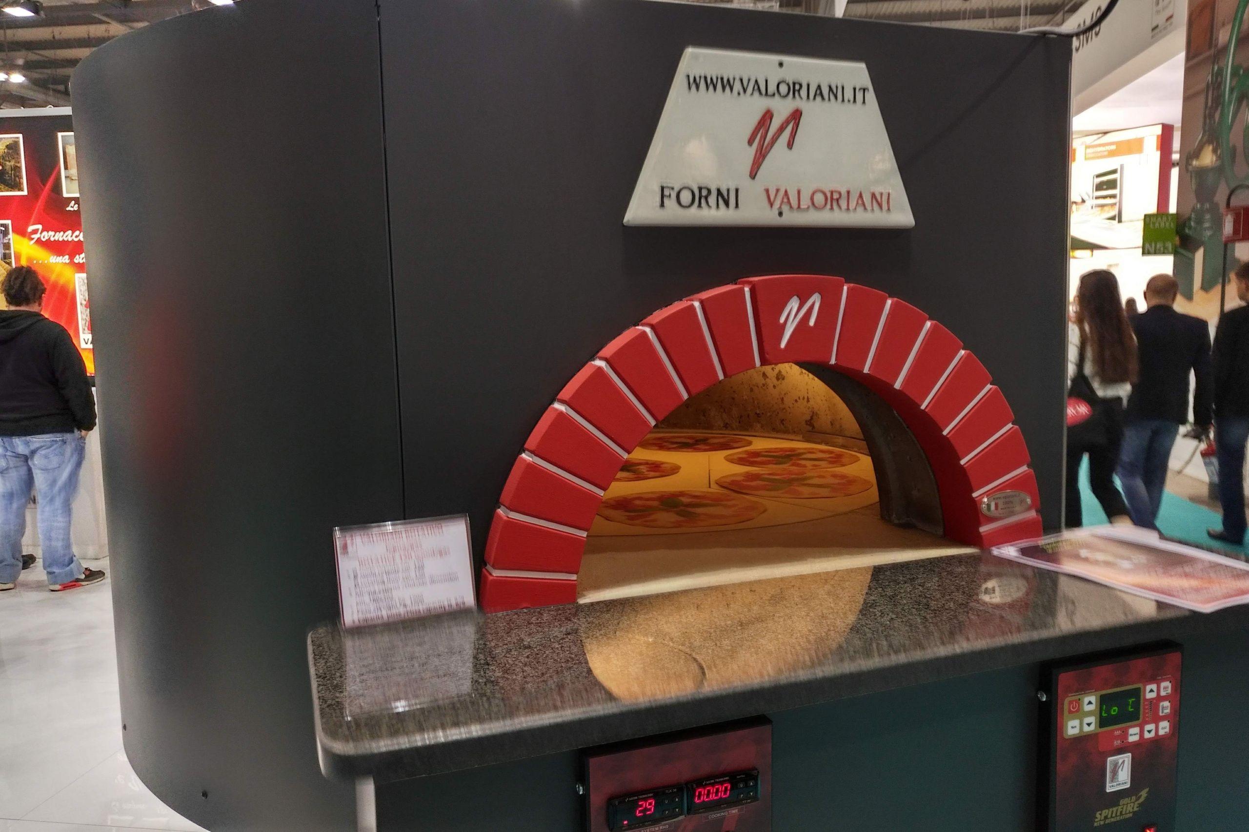 Valoriani rotativo drehofen pizza 2