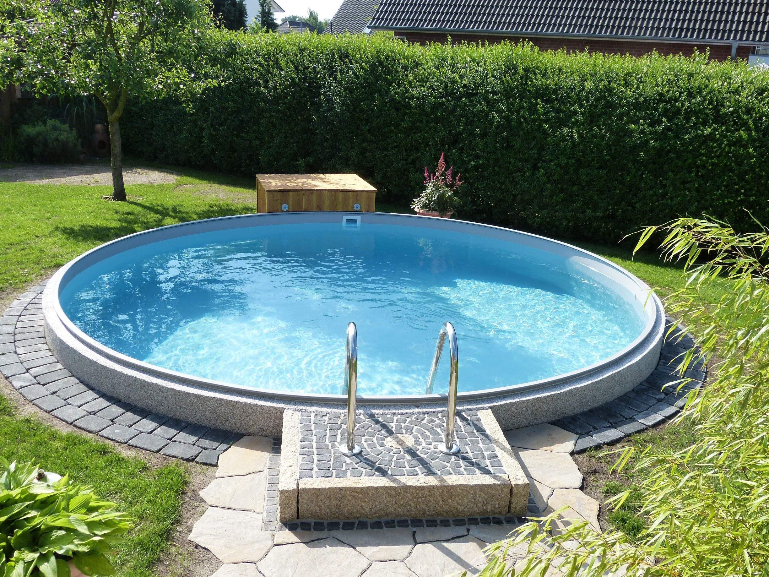 Pool Im Garten Bauen Das Beste Von Poolakademie Bauen Sie Ihren Pool Selbst Wir Helfen