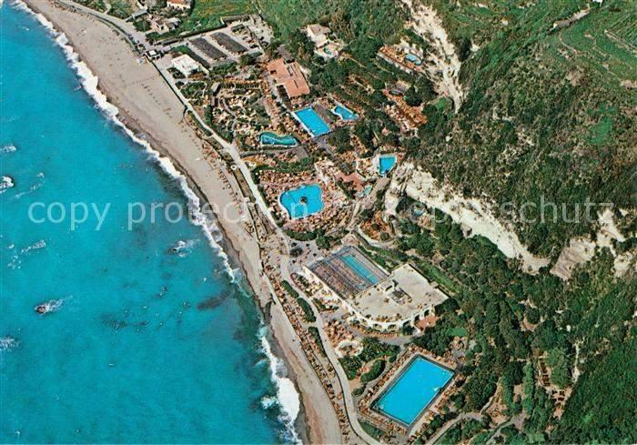Isola d Ischia Poseidon Gaerten Fliegeraufnahme Kat Golfo di Napoli
