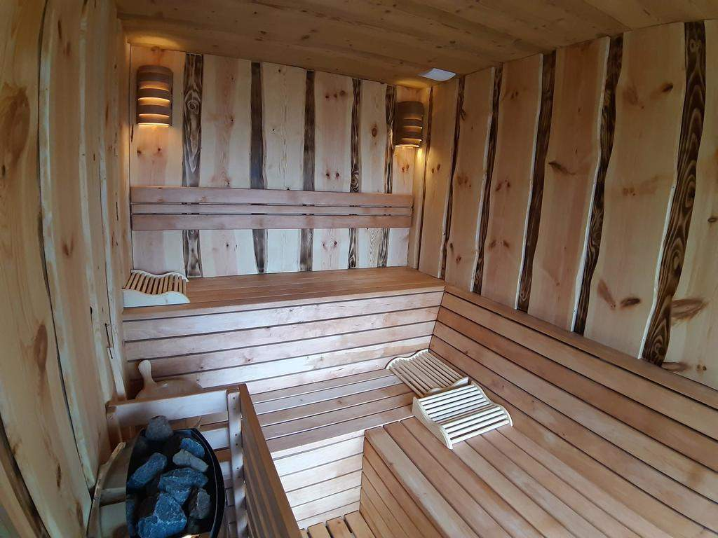 sauna im garten luxus lodge koca dobnik lovrenc na pohorju slovenia booking of sauna im garten