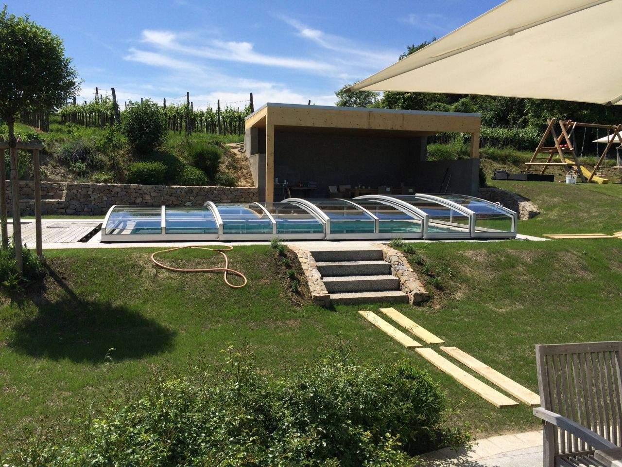 grillecke garten luxus poolhaus pooldach und grillecke bauanleitung zum of grillecke garten 1