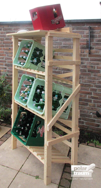 Regal Garten Holz Schön Getränkekisten Regal Aus Fichtenholz – Kann In Der Größe