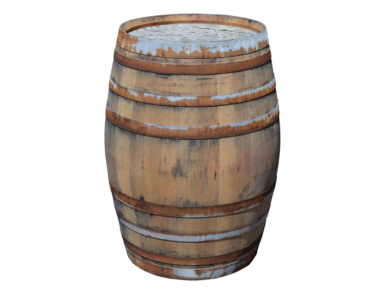 Weinfass Barrique rustikal Regentonne Fass