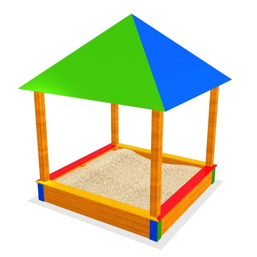 SW sandkasten dach