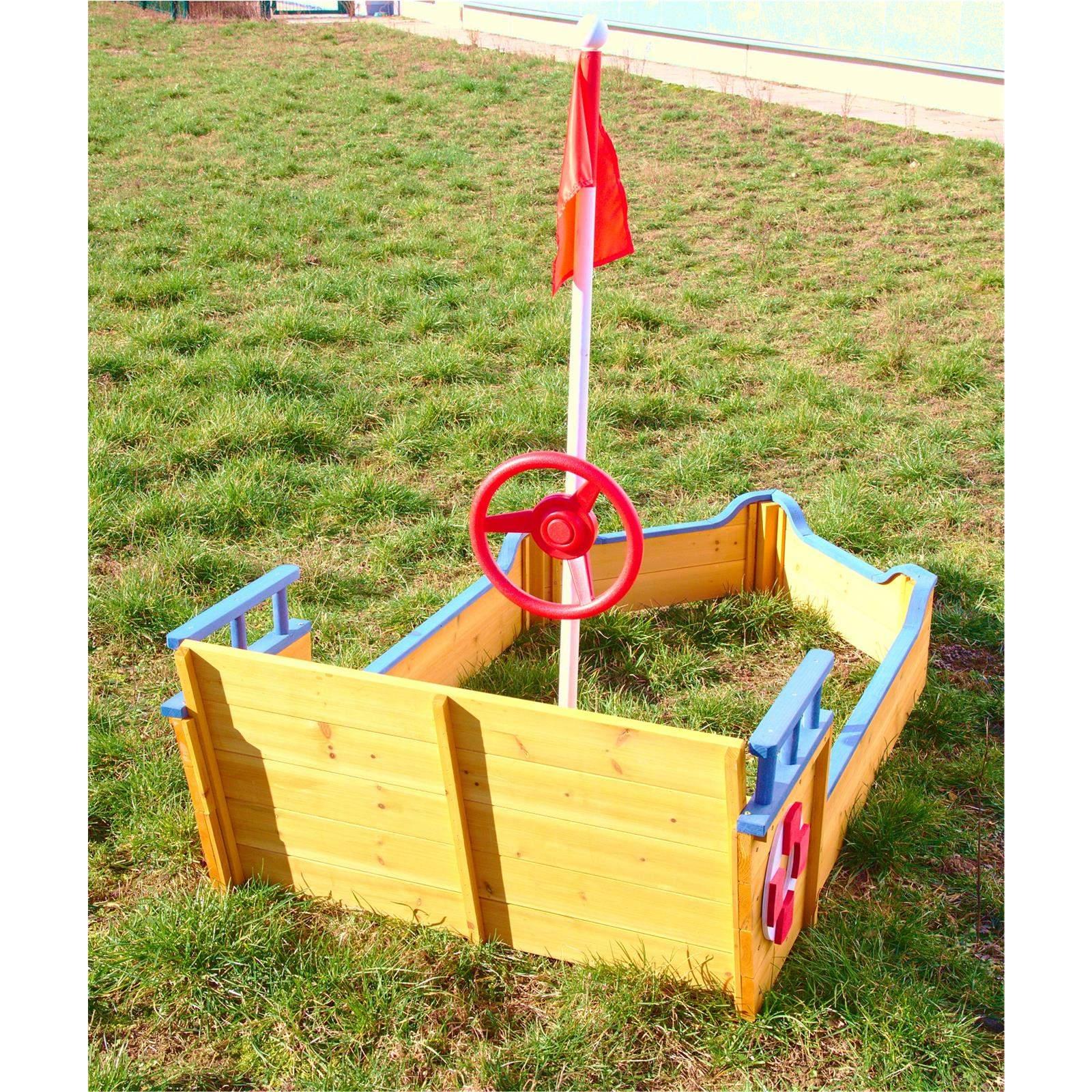 Sandkasten Garten Luxus Sandkasten Boot