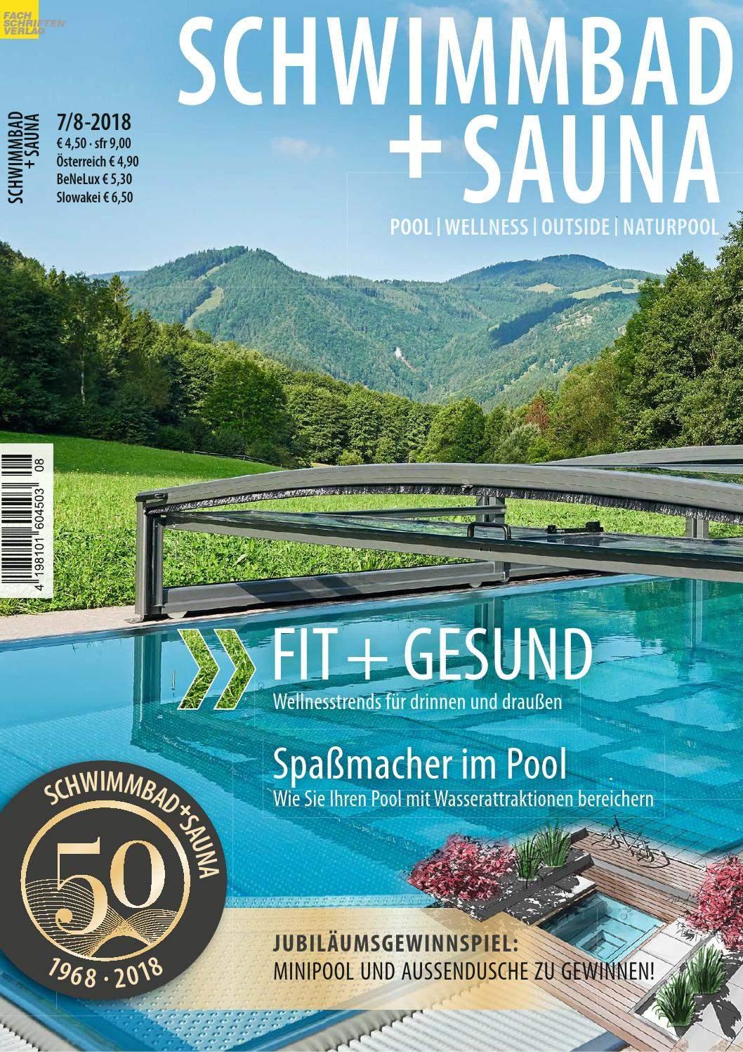Sauna Garten Genial Schwimmbad Sauna 7 8 2018 by Fachschriften Verlag issuu