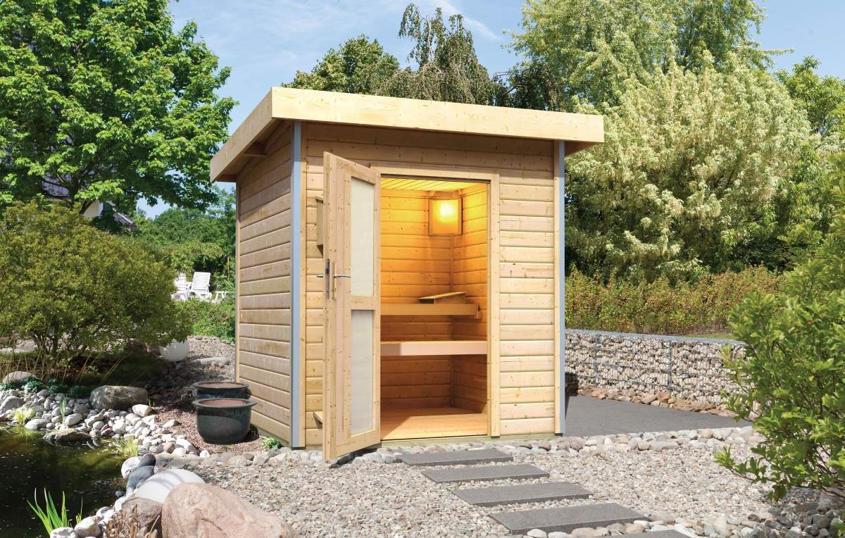 Karibu Holztechnik Sauna 00