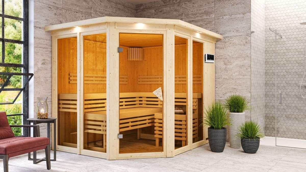 6105 Karibu Holztechnik Sauna 00