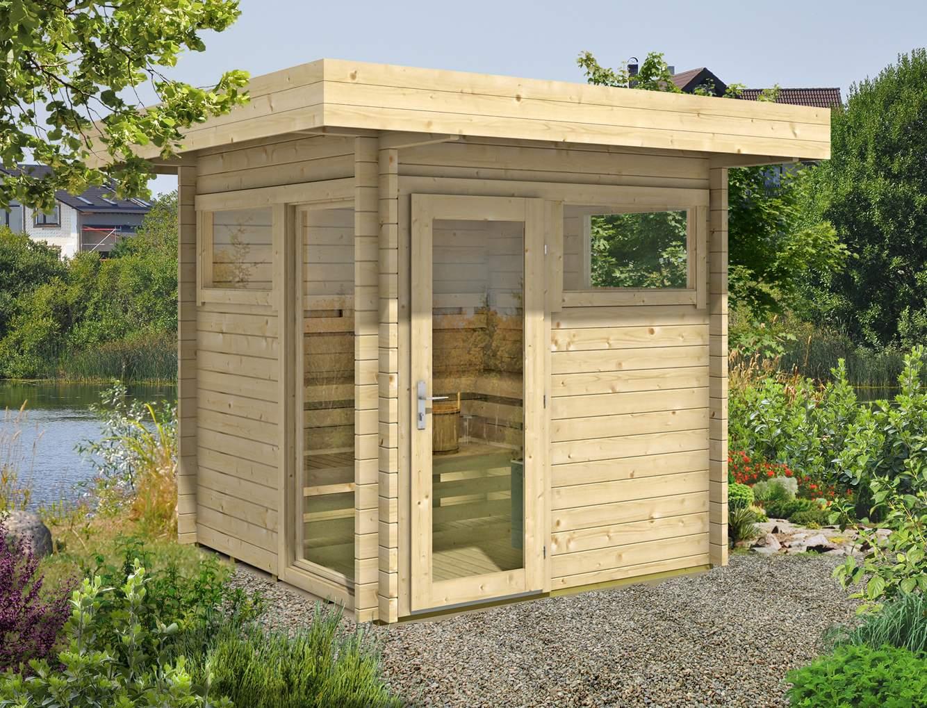 Sauna Im Garten Baugenehmigung Neu Saunahaus Kemi 44