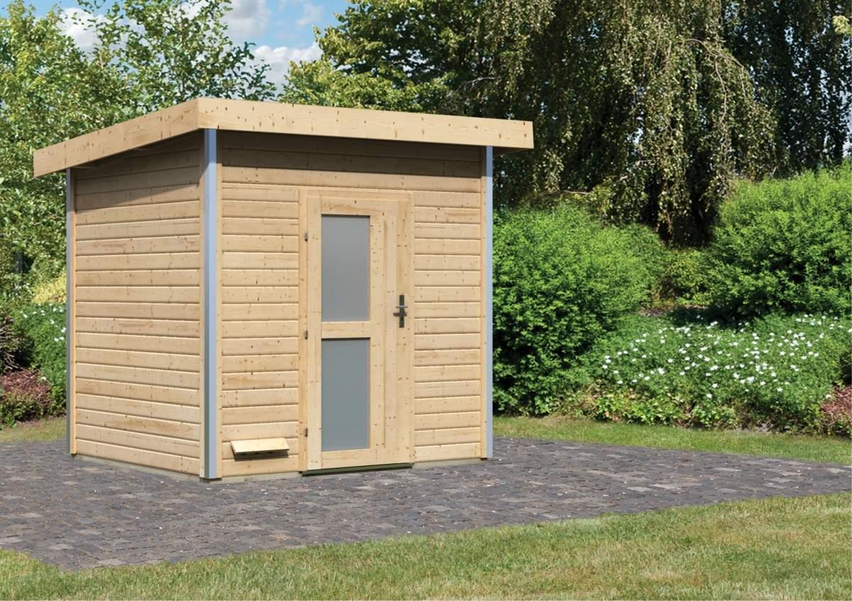 Karibu Holztechnik Sauna 01