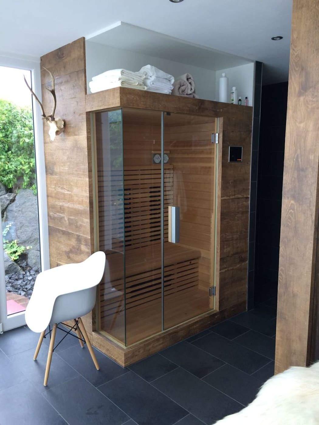 Sauna Selber Bauen Garten Frisch Sauna Im Außenbereich Mit Dusche Moderner Spa Von Fa