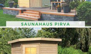 29 Inspirierend Saunahaus Garten Reizend
