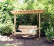 Schaukel Holz Garten Frisch 2 Post Pergola