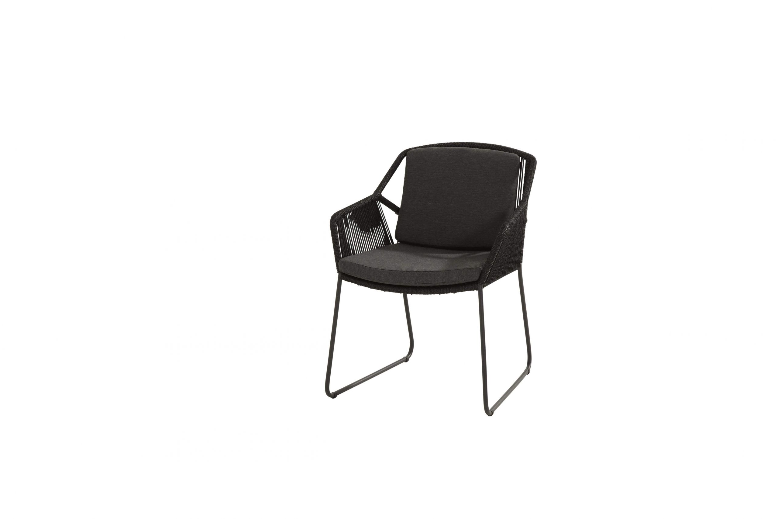 Accor dining chair Anthracite with 2 cushions 01