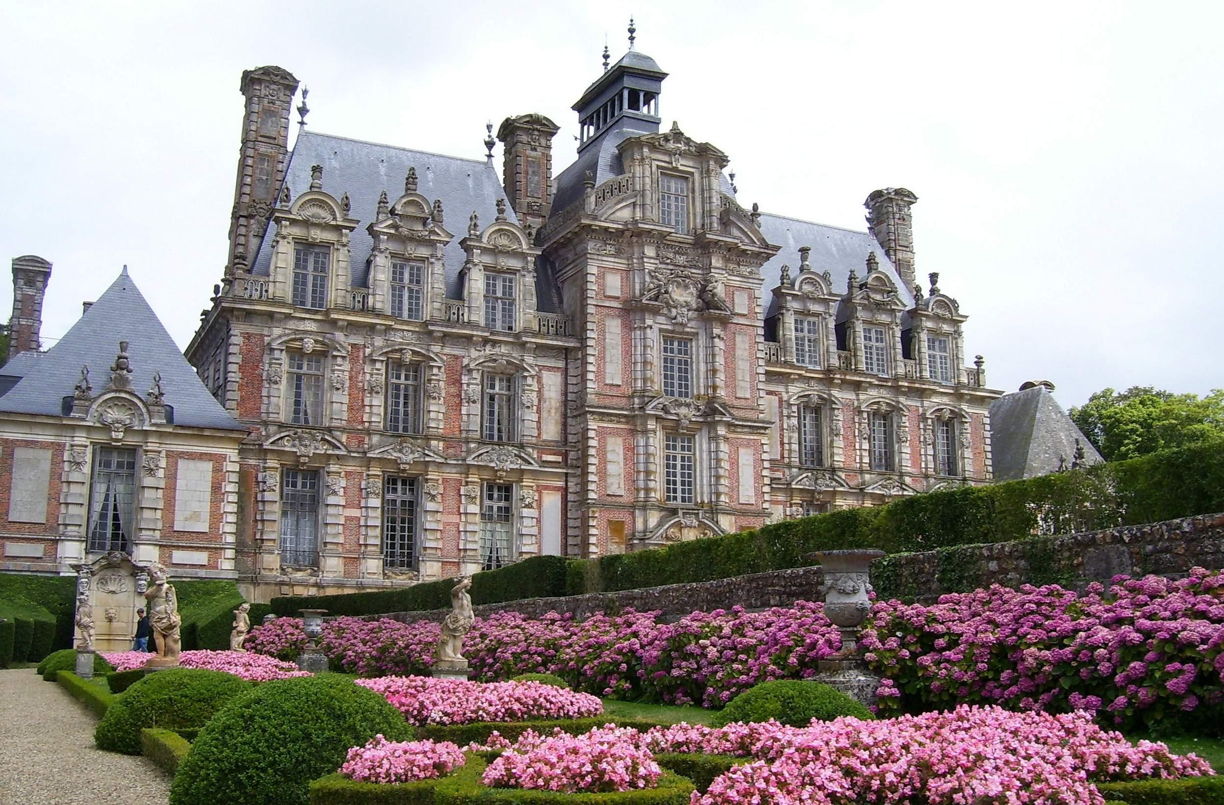 Château de Beaumesnil jardin