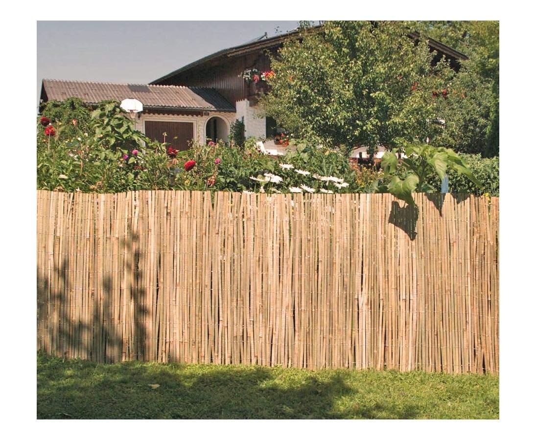 Sichtschutzmatte aus gespaltenem Bambus BEACH 180 300cm 1bmzkZYTOSzdOT