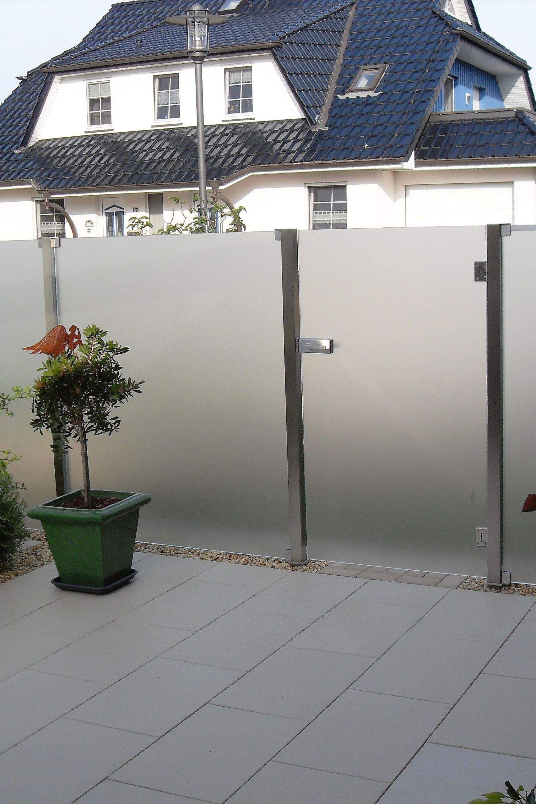 Sichtschutz Glas Garten Luxus Der Sichtschutz Aundo Kann sowohl An Der Terasse Als Auch Im