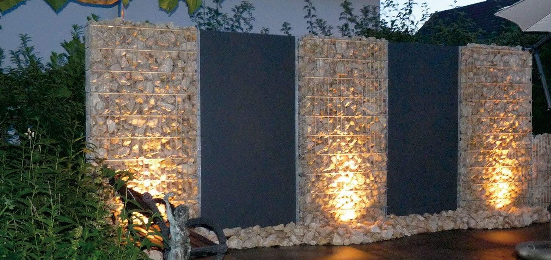 Sichtschutz Mauer Garten Inspirierend Zaunteam Zäune Zaun Zaunbeleuchtung Gabionen