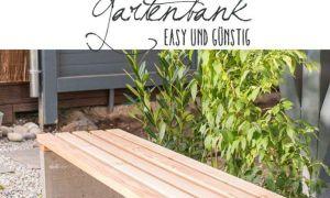 33 Genial Sitzbank Holz Garten Reizend
