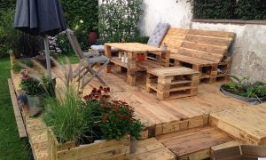 26 Neu Sitzecke Garten Holz Schön