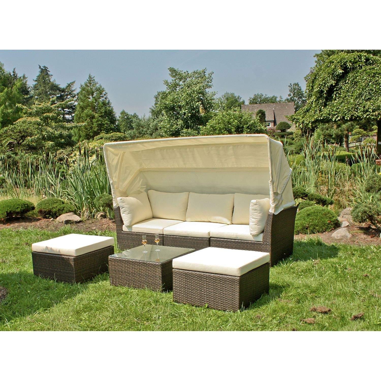 Sitzgruppe Garten Frisch Loungegruppe Santiago 4 Teilig