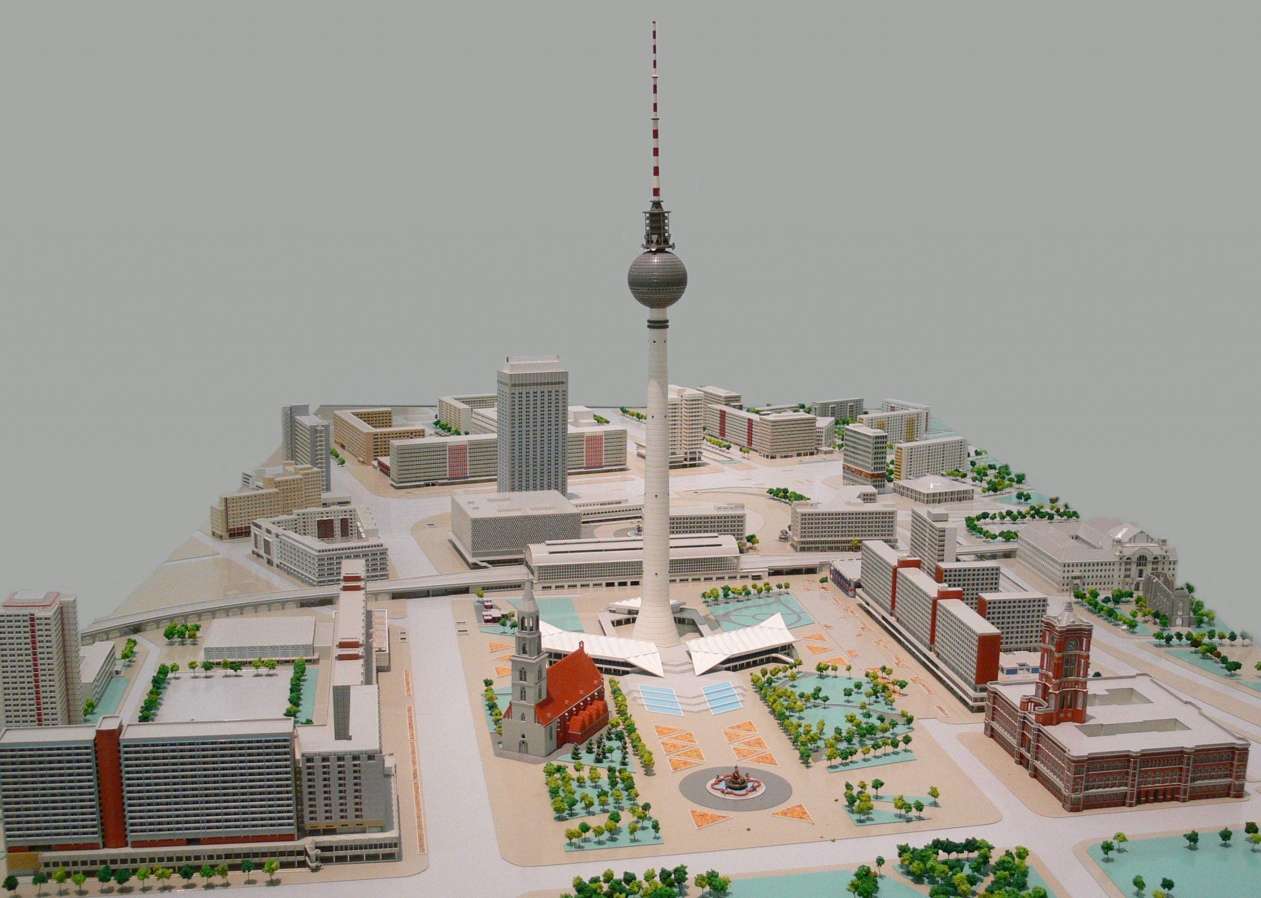 Alexanderplatz Stadtmodell 1